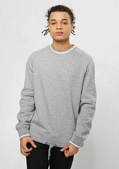Sweatshirt Laced heather grey
