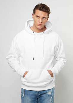 Hooded-Sweatshirt Raglan white
