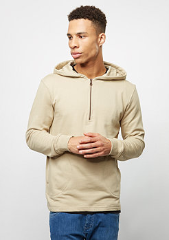Hooded-Sweatshirt Half-Zip safari