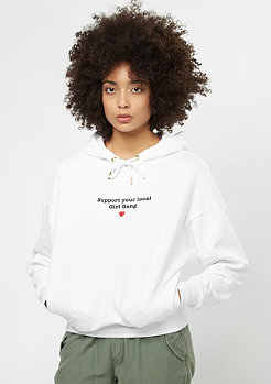 Flatbush Basic Sweat Hoody white