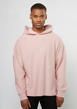 Hooded-Sweatshirt rose smoke