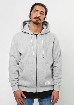 Hooded-Zipper Basic 10 heather