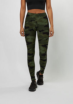 Leggings Camo Stripe wood camo/black