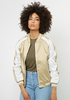 3-Tone Souvenir Jacket gold/off white/gold