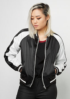 3-Tone Souvenir Jacket black/off white/black