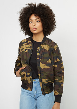 Übergangsjacke Light Bomber wood camo