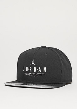 Snapback-Cap Modern Heritage black/white