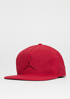 Snapback-Cap Jumpman Perf gym red