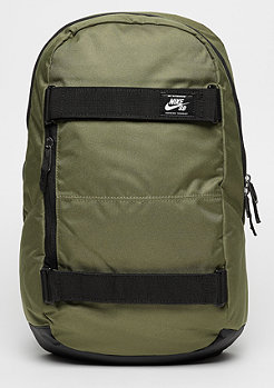 Rucksack Courthouse medium olive/black/white