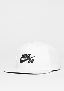 Snapback-Cap Pro white/white/black