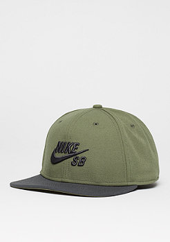 Snapback-Cap Pro medium olive/anthracite/black