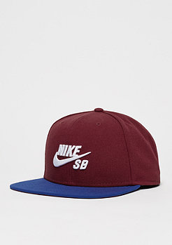 Snapback-Cap Pro team red/deep royal blue/black