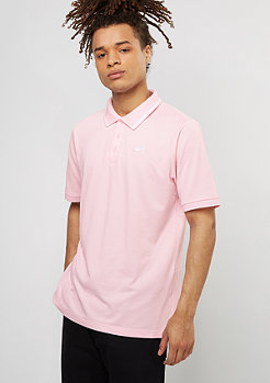 Polo Dri-Fit Pique Tipped prism pink/white
