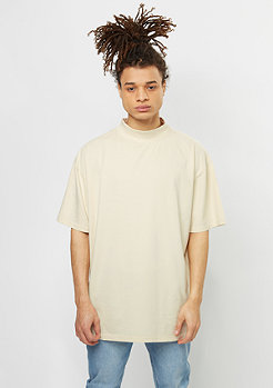 Oversized Turtleneck Tee sand