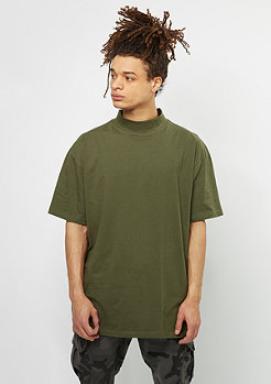 Oversized Turtleneck Tee olive