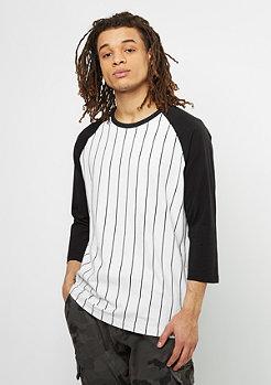 Longsleeve Contrast 3/4 Baseball white/black
