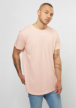 Shaped Long Tee pink