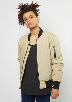 2-Tone Bomber Jacket gold/black