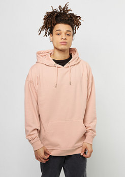 Hooded-Sweatshirt Oversized light rose