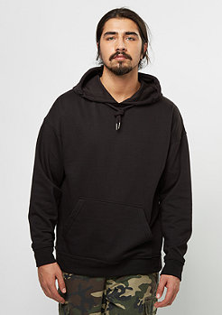 Hooded-Sweatshirt Oversized black