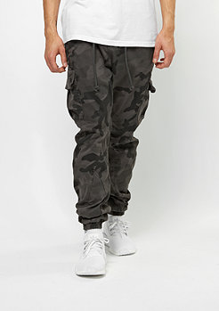 Camo Cargo Jogging Pants grey