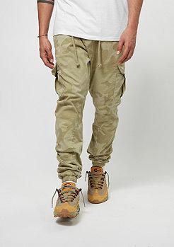 Camo Cargo Jogging Pants sand camo