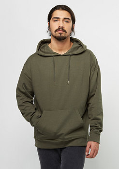 Oversized Sweat Hoody olive