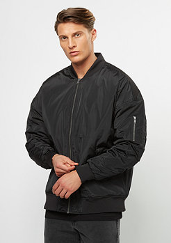 Oversized Bomber black