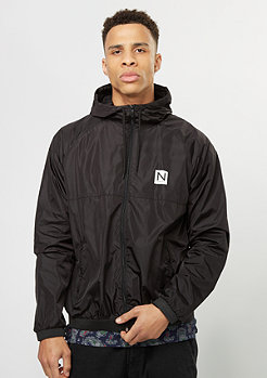 New Black Windbreaker Jacket black