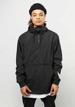 Hooded Woven black/white