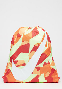 Graphic Gymsack (youth) bright mandarin/track red/white