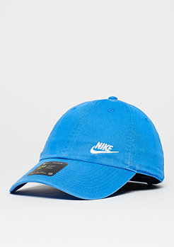 Baseball-Cap Twill H86 light photo blue/white