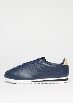 NIKE Schuh Classic Cortez Leather SE midnight navy/midnight navy/black