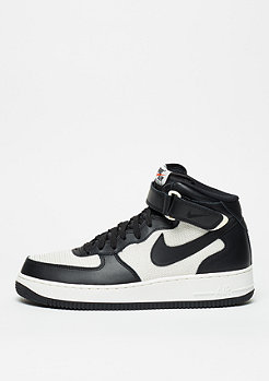 NIKE Schuh Air Force 1 Mid 07 black/black/summit white