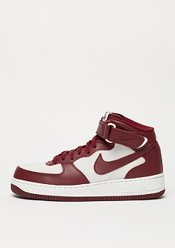 NIKE Basketballschuh Air Force 1 Mid 07 team red/team red/summit white
