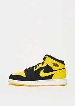 Basketballschuh Air Jordan 1 Mid black/varsity maize/white