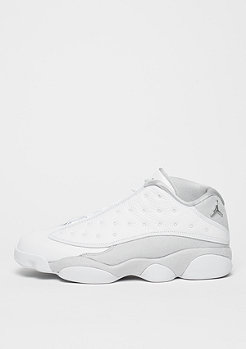 Air Jordan 13 Pure Money Retro Low white/metallic silver