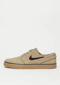 Skateschuh Air Zoom Stefan Janoski khaki/black/gum light brown