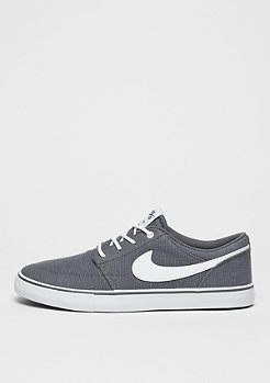 Skateschuh Solarsoft Portmore II Canvas dark grey/white/black