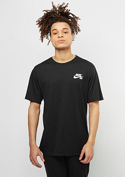 T-Shirt Dry black/white