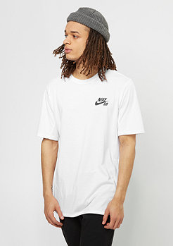 T-Shirt Dry white/black