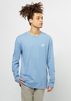 NIKE Longsleeve Top Club work blue/white