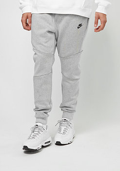 NIKE Trainingshose Sportswear Tech Fleece white/heather/black