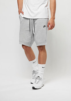 NIKE Sport-Short Tech Fleece white/heather/black