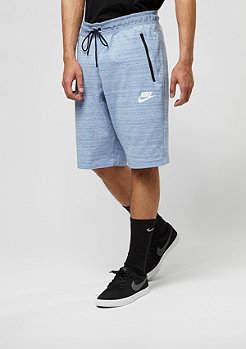 NIKE Sport-Short AV15 aluminium/heather/white