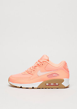 NIKE Schuh Wmns Air Max 90 sunset glow/sunset glow/gum light brown