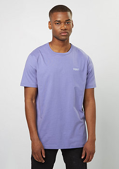 T-Shirt Chest Logo deep perriwinkle/white