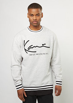 Sweatshirt Crew Retro grey