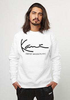 Sweatshirt Crew Retro white
