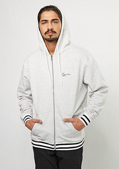 Hooded-Sweatshirt retro grey